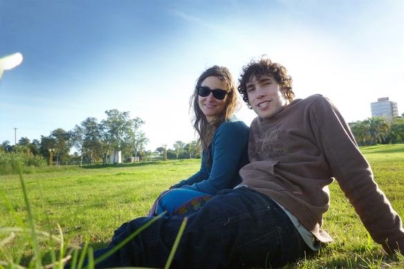 Hanging out in parque del sur
