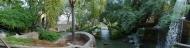 Panorama waterfalls