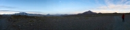 Panorama over the village we slept in
