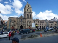 The San Francisco Church in La Paz