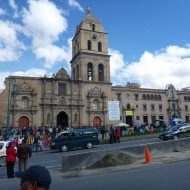 The San Francisco Church in La Paz
