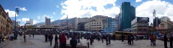 Panorama over La Paz