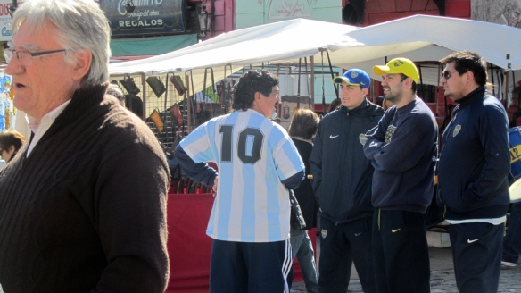 But... what's maradona doing here??