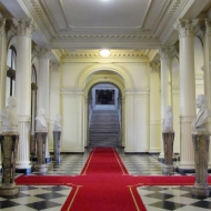 Inside the casa rosada