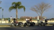 Costanera and nice motor cycles.