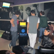 Bowling with some of the couchsurfing group :)