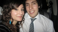 Me and my boyfriend. :)