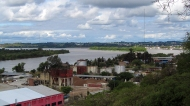 View over the paraná river
