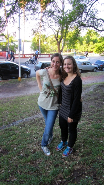 With my old penpal from year 2000, lorena :)