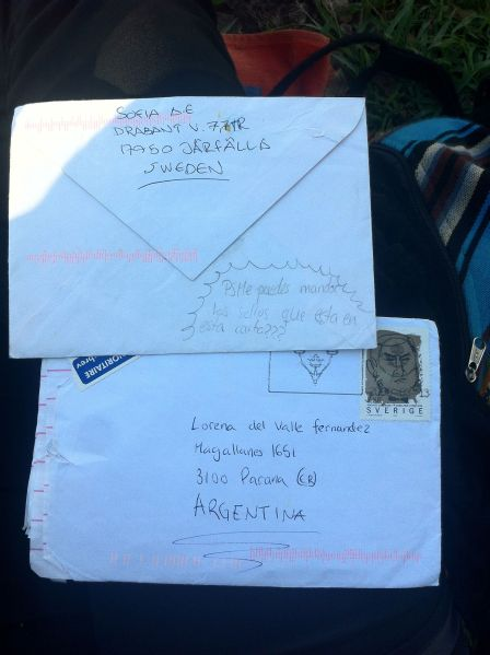 Old letters to Lorena!