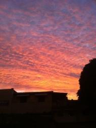 first brazilian sunset!