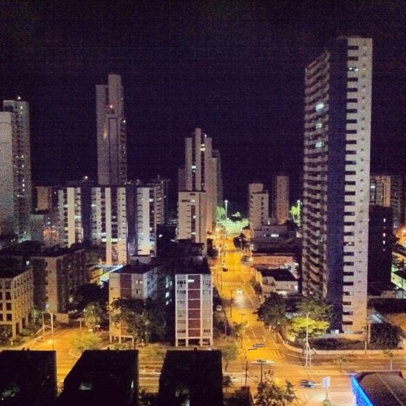 Boa Viagem at night