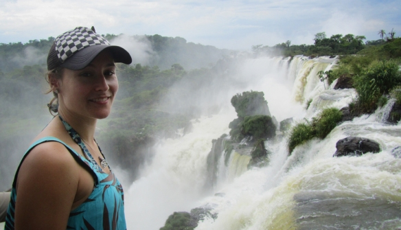 Me in front of the cataratas :)