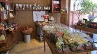 Chocolate store...