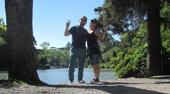 Me and Rafa in Lago Negro