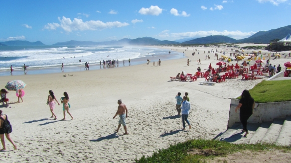 Praia do Joaquina in Florianopolis