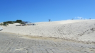 Sand dunes! I was so surprised to find them. You can do sandboard here too!