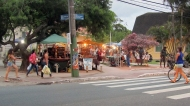 The handicraft market in Lagoa