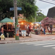 The handicraft market in Lagoa