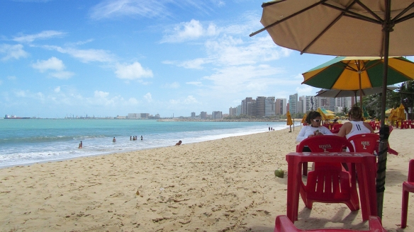 Beira Mar, a oasis in the fortaleza-rush!