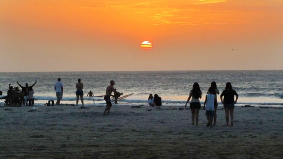 Sunset in Jericoacoara