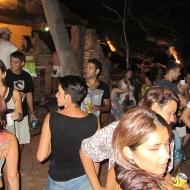 Hanging out at the samba-party