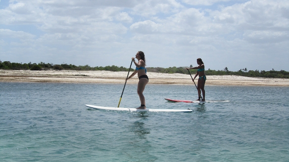 Stand up paddle with Debora :)