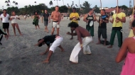 Capoeira on the beach!