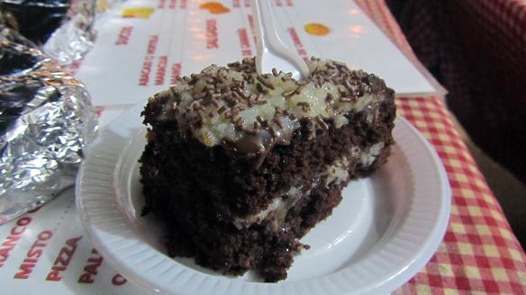 The famouse chocolate cocada-cake!