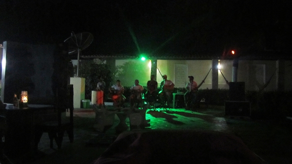 Samba Concert at night