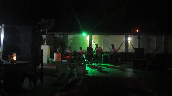 Samba Concert at night
