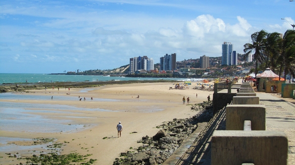 View over the beach in Natal