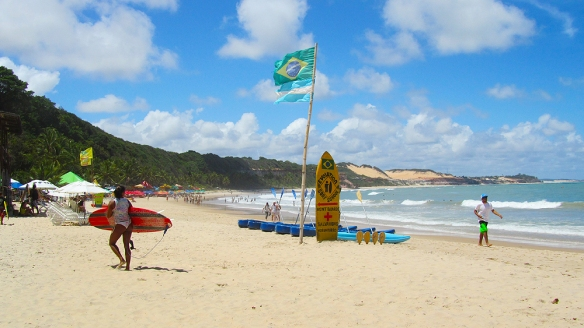 Praia do Madeiro, good for surfing!