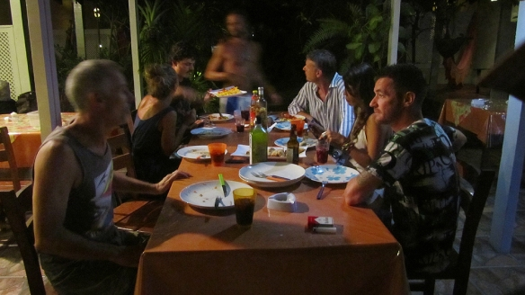 Lazaro invited us over for a great dinner at his Pousada. :)