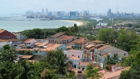 View over Olinda and Recife