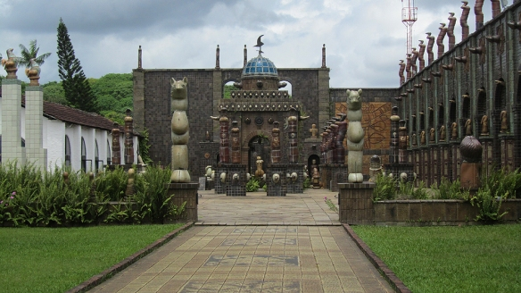 Very impressive courtyard