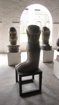 Some sculptures
