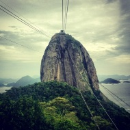 The sugarloaf mountain
