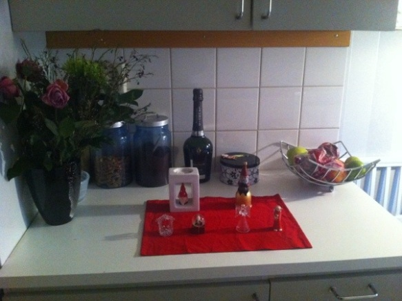 My christmas corner at home ;)