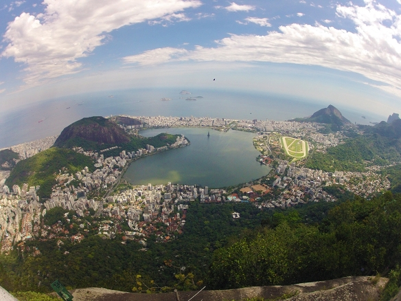 View over Rio and Lagoa