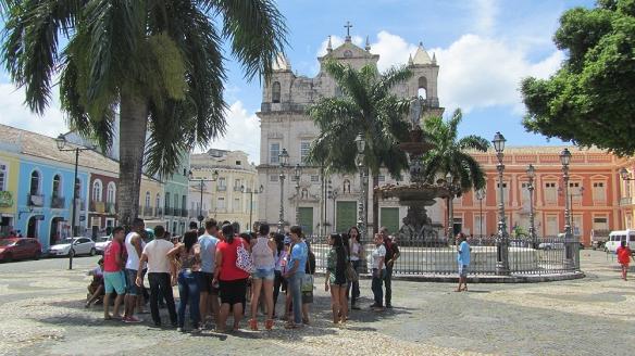 Terreiro the Jesos and Igreja de Santo Domingos