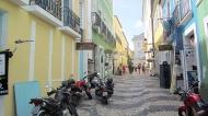 A street in the Pelourinho