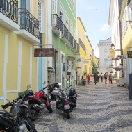 A street in the Pelourinho
