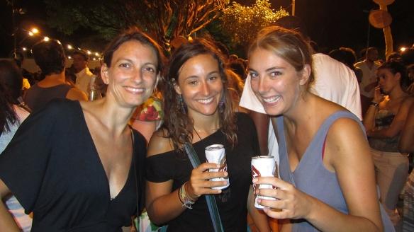 At the samba concert!