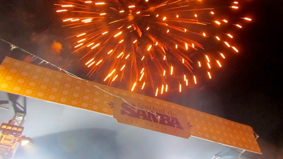 Fireworks and Samba!