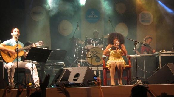 Elza Soares, famous brazilian samba singer, born 1937!
