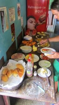 Breakfast buffet!