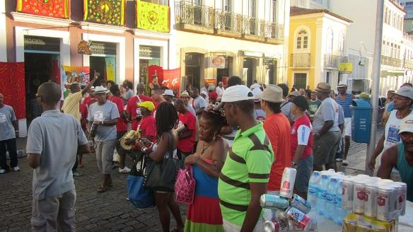 Samba train on the street! Hehe. Love it!