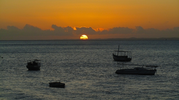 Sunset in Salvador