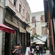 Outside Carmen Mirandas house :)